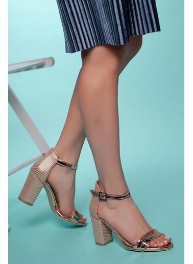 Muggo Topuklu Ayakkabı Pembe